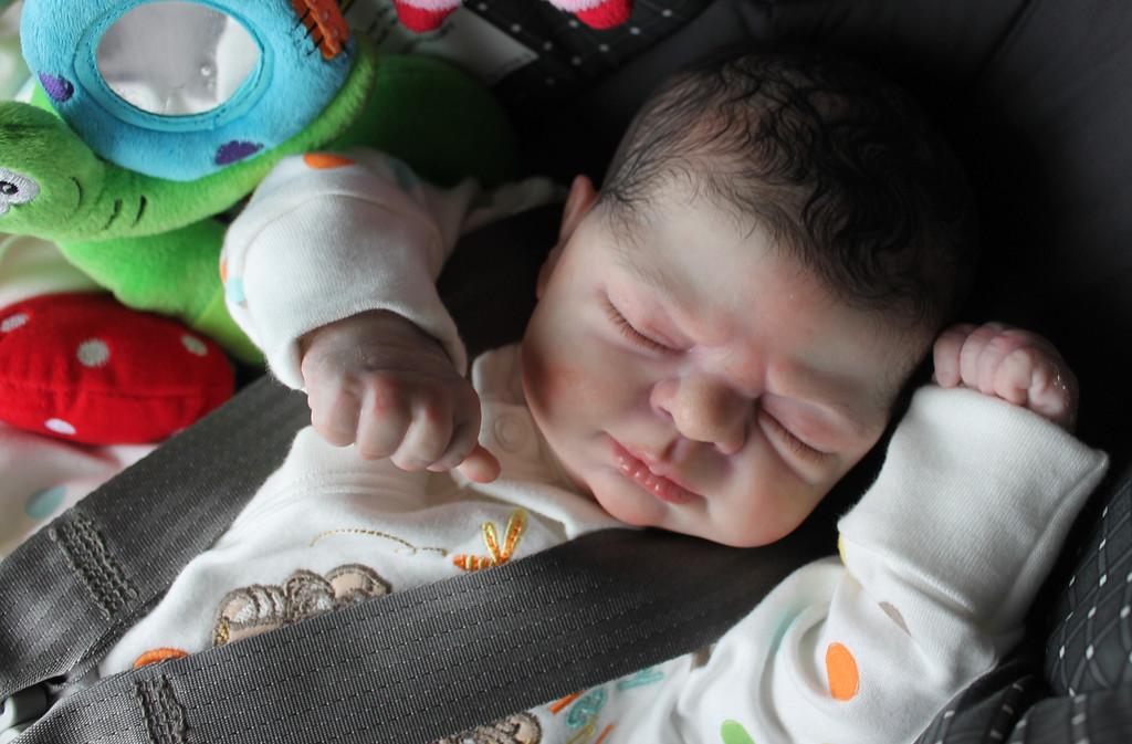 Beautiful Reborn Newborn Baby Boy Doll Precious Gift Samantha Rose Harker