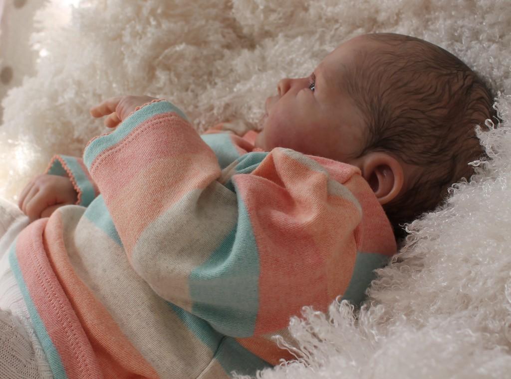 Beautiful Reborn Newborn Baby Girl Doll Nina Sam's Reborn Nursery