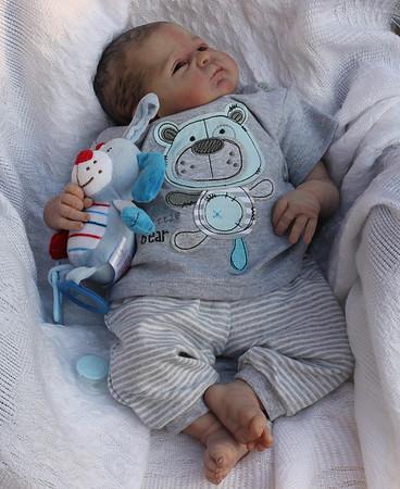 Beautiful Reborn Newborn Baby Boy Doll Seraphina Sam's Reborn Nursery