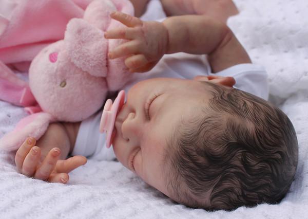 Reborn Newborn Baby Girl Doll New Sculpt Annie Sam's Reborn Nursery
