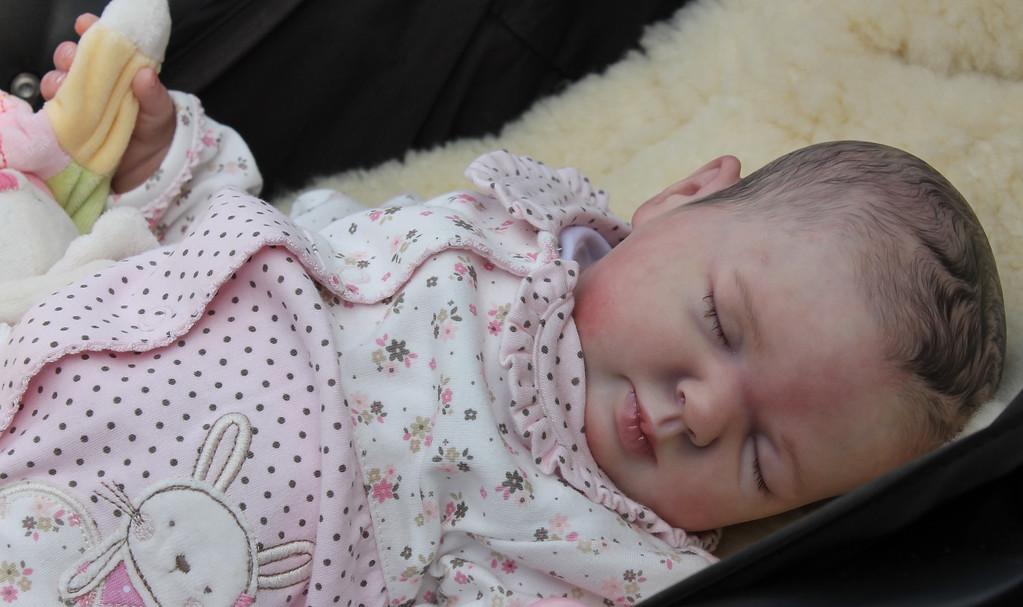 Beautiful Reborn Newborn Baby Girl Doll Rose Sam's Reborn Nursery